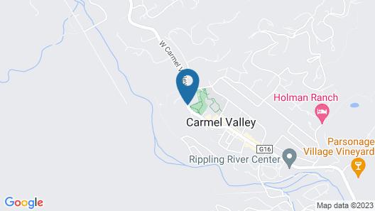 Hidden Valley Inn Map