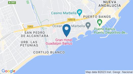 Gran Hotel Guadalpin Banus Map