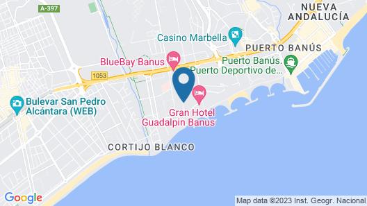 Mimosas Suites Banus Map