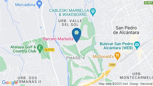 Barceló Marbella Map