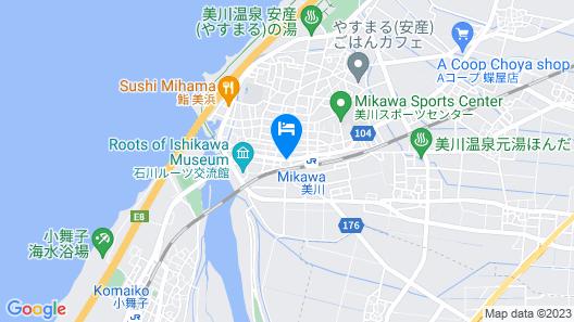 B&B MIKAWA - Kanazawa Fish Harbour Map