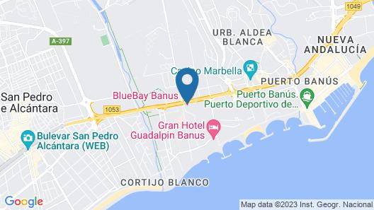 Hotel BlueBay Banús Map