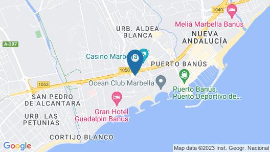 Villa Marina Marbella Map