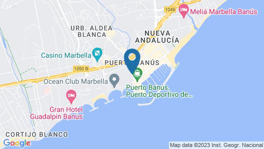 Banus Beach Apartments Map