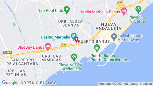 H10 Andalucia Plaza - Adults Only Map