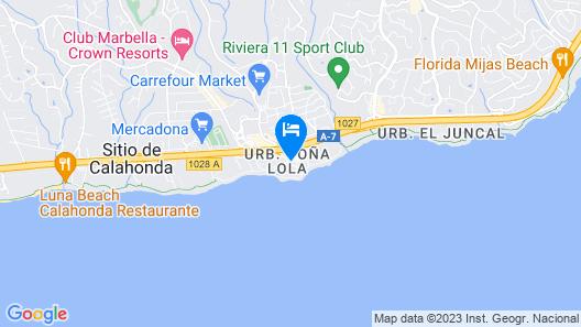 Macdonald Dona Lola Club Map