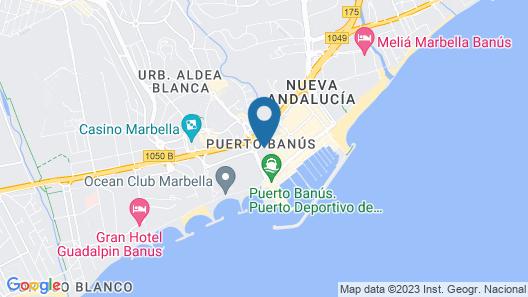 by RIVA - Cozy Contemporary Studio in Puerto Banus Gardens Map