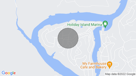 Island Treasure Townhome, Golf, Marina, Swimming, Fishing, Wifi Map