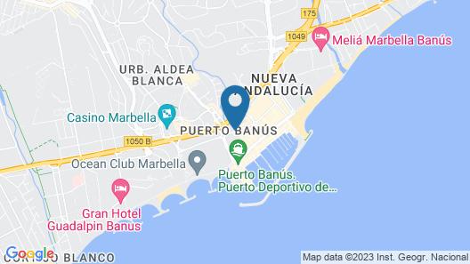 Hotel PYR Marbella Map