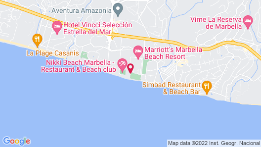 Marriott's Marbella Beach Resort Map