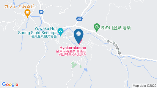 Hyakurakuso Map