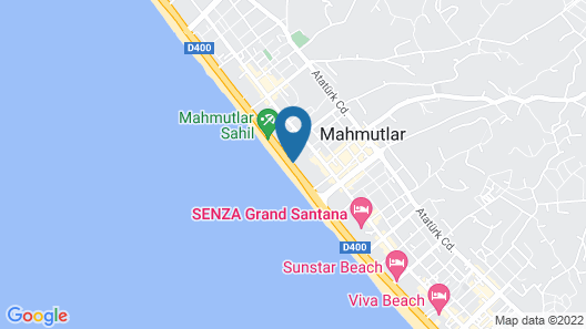 Aktas Hotel Map