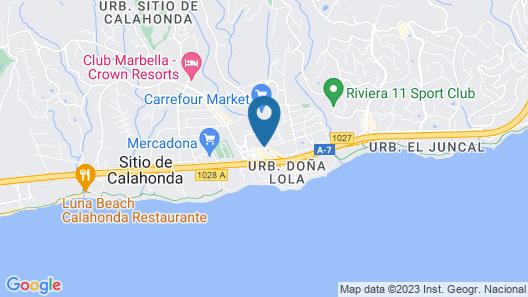 Resort Medina del Zoco Map