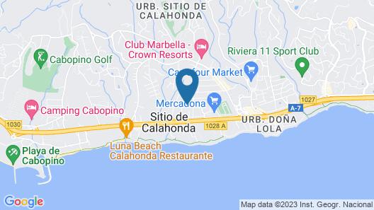 Crown Resorts Club Calahonda Map