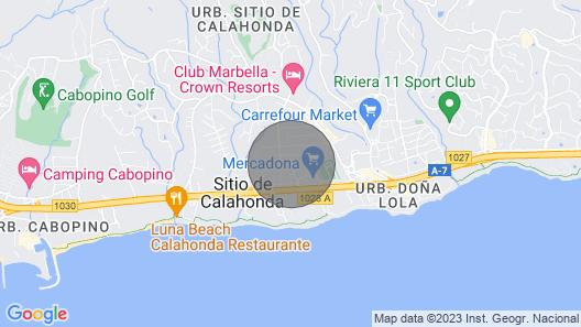 Oasis de Calahonda Holiday Apartment Map