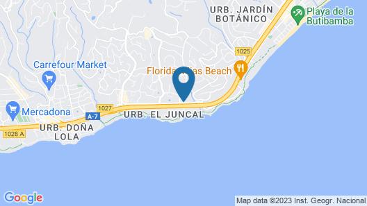 Miraflores Beach & Country Club Map