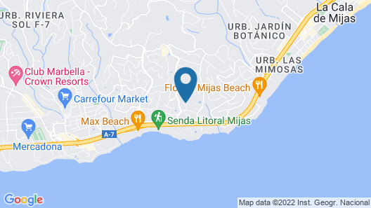 Miraflores Resort Map