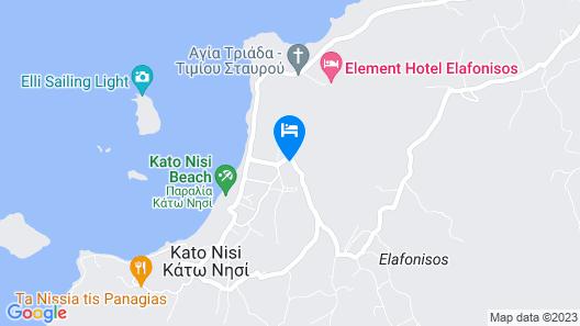 Castro Elafonisos Map
