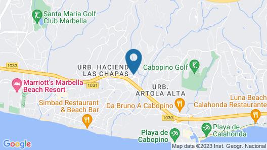 Hotel Vime La Reserva de Marbella Map