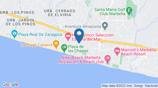 Villa Gatsby Marbella Map
