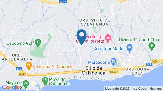 Villa España Map