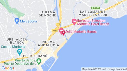 Melia Marbella Banus Map
