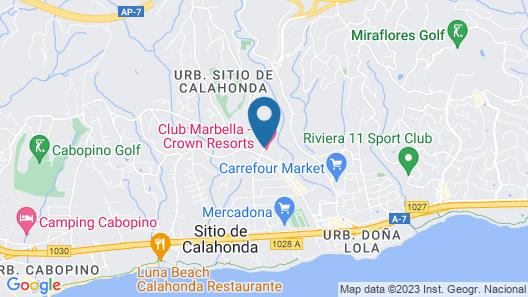 Crown Resorts Club Marbella Map