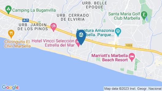 Vincci Selección Estrella del Mar Map