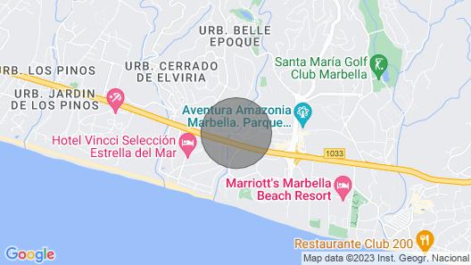 Villa With Private Garden Map