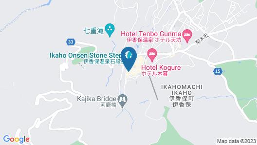 Kishigon Ryokan Map
