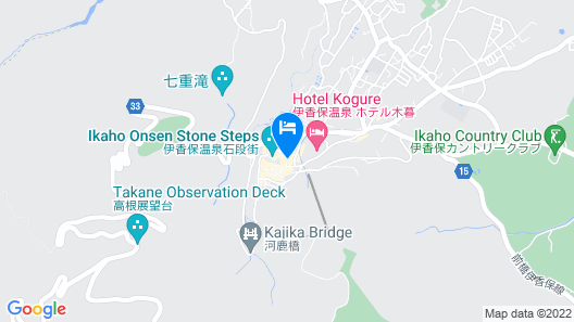Moriaki Ryokan Map