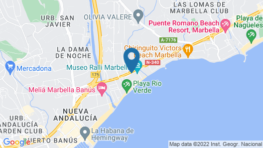 Iberostar Selection Marbella Coral Beach Map