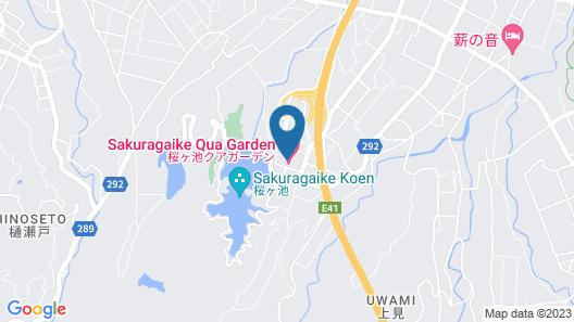 Sakuragaike Kurgarden Map