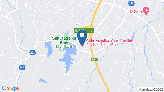 Sakuragaike Kuagarden Map