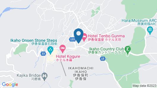 Ryokan Pinon Map