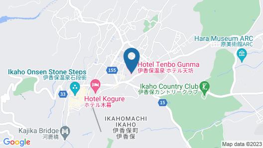 Hotel Tenbo Map
