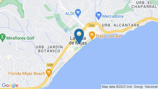 VIK Gran Hotel Costa del Sol Map