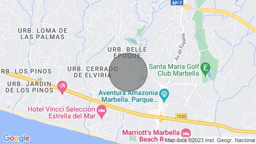 Villa Exclusiva Calle Acacia Map