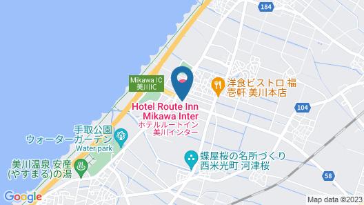 Hotel Route-Inn Mikawa Inter Map