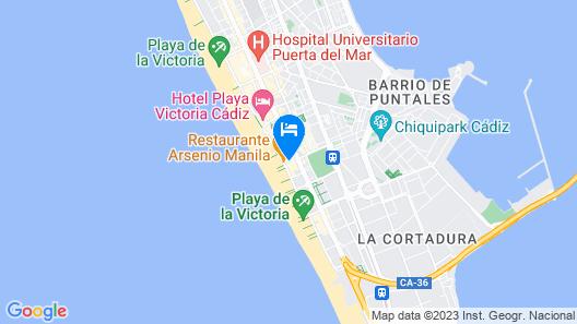 Apartamento La Salicornia Map