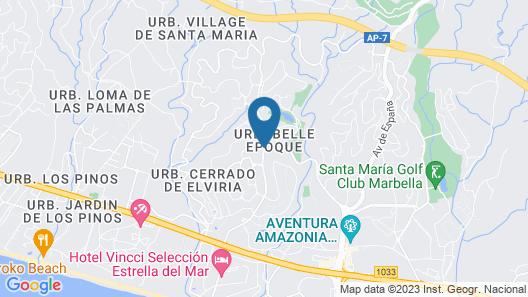 OleHolidays Apartamento Elviria Map