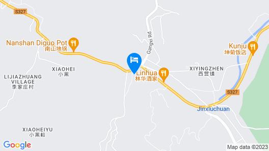 Jinan Banshan Linyun Resort Hotel Map