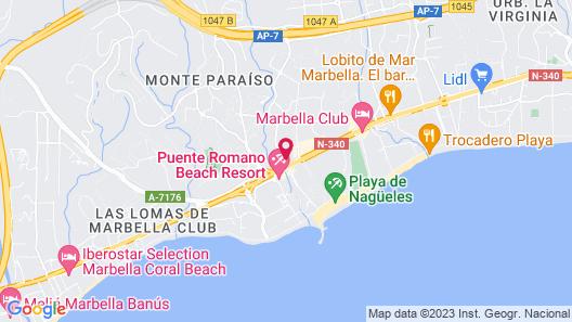 Alanda Marbella Hotel Map