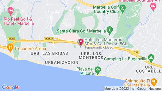 Los Monteros Spa & Golf Resort Map