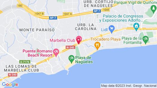 Marbella Club Hotel Golf Resort & Spa Map