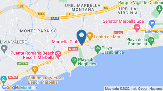 Marbella Club Hotel Golf Resort & Spa Map