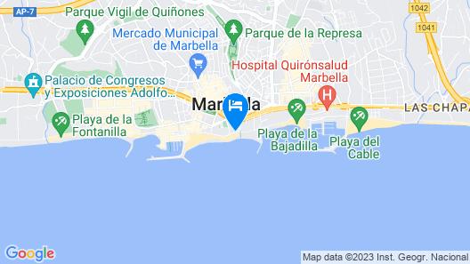 Apartamentos Princesa Playa Map