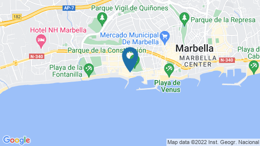 Skol Apartments Marbella Map
