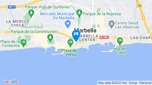 Hotel Fuerte Marbella Map