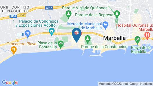 SunHome Marbella Estudio Map